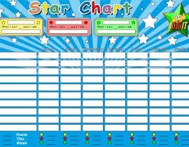 #31 for Design a kids reward chart in a3 size af GaborCs