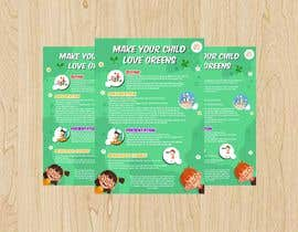 #5 para Design a poster for wellcure - Make Your Child Love Greens. por dewiwahyu