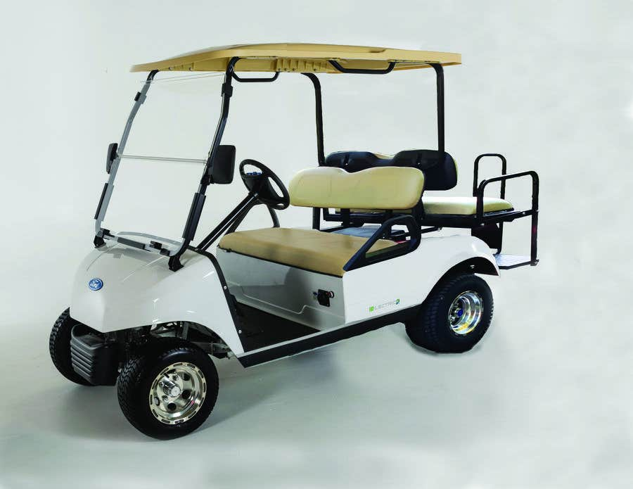 Contest Entry #13 for photoshop changes to golf cart