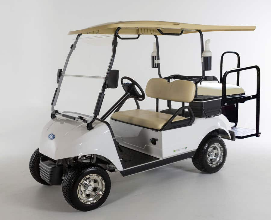 Contest Entry #3 for photoshop changes to golf cart