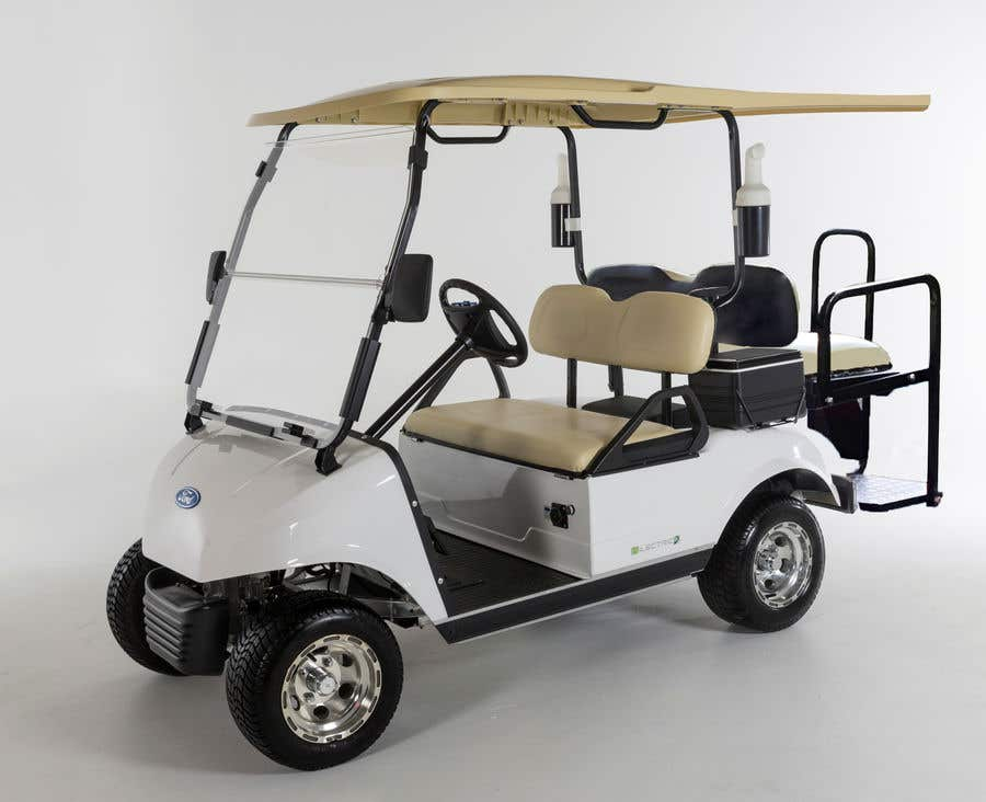 Contest Entry #10 for photoshop changes to golf cart
