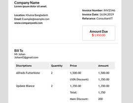 #27 for I need a responsive email invoice template by bappa85
