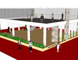 #3 for Create pictured tradeshow stand in google sketch up by shahidullah79
