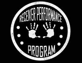 #13 for I need a simple logo for my training program. I love the CrossFit vibe of the logo I sent. The hand print should be the main and centred. (Receiver Performance Program) is the name of the training program. af Lj1601