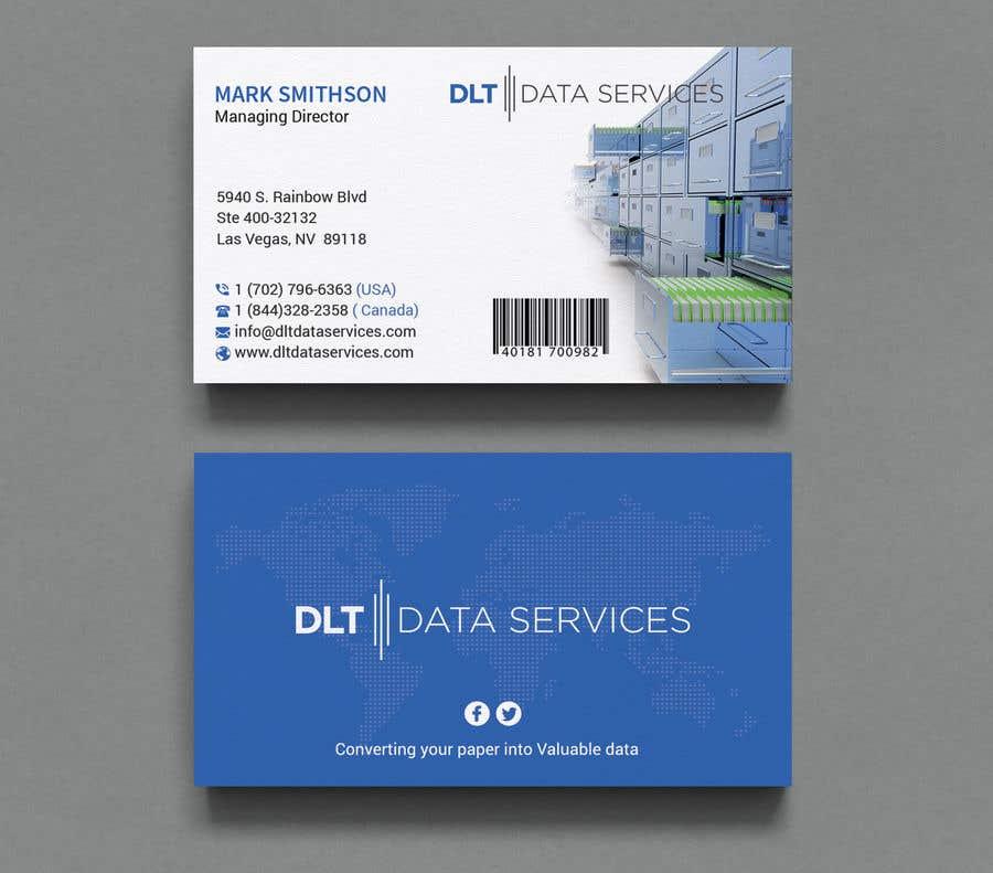 Kilpailutyö #412 kilpailussa Create business card