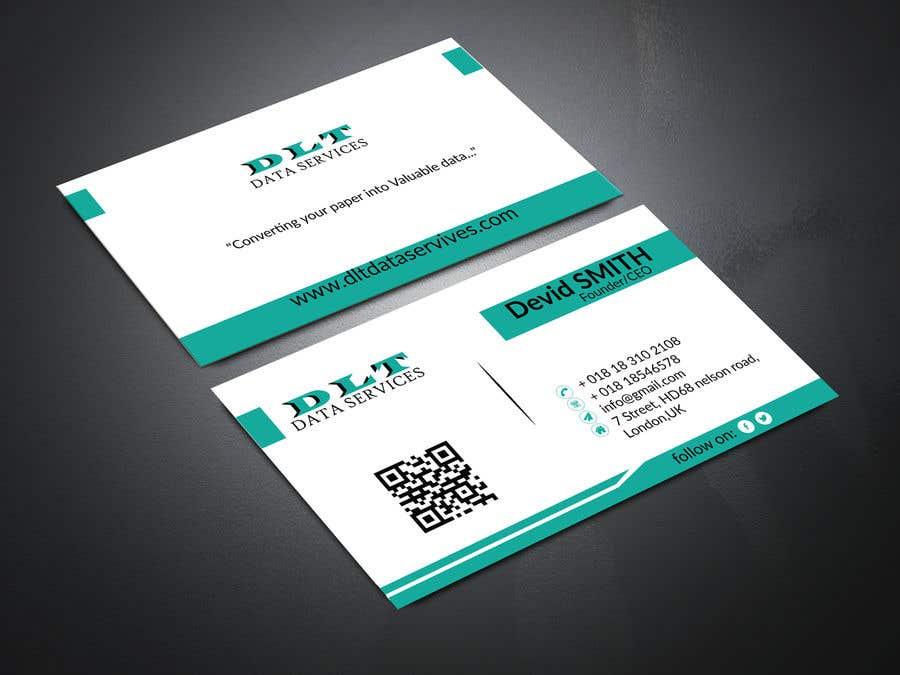 Kilpailutyö #577 kilpailussa Create business card