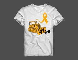 #11 for Beat Cancer shirt design af franklugo