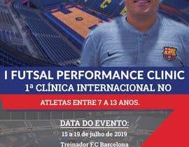 Nro 12 kilpailuun I Futsal Performance Clinic käyttäjältä designeryousuf