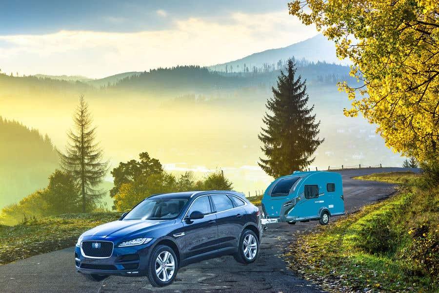 Penyertaan Peraduan #214 untuk Photoshop carvan on background image and change colour