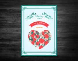 #130 para design of wedding invitations por luphy