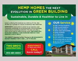 #65 for Professional Flyer - for Hemp House by mylogodesign1990