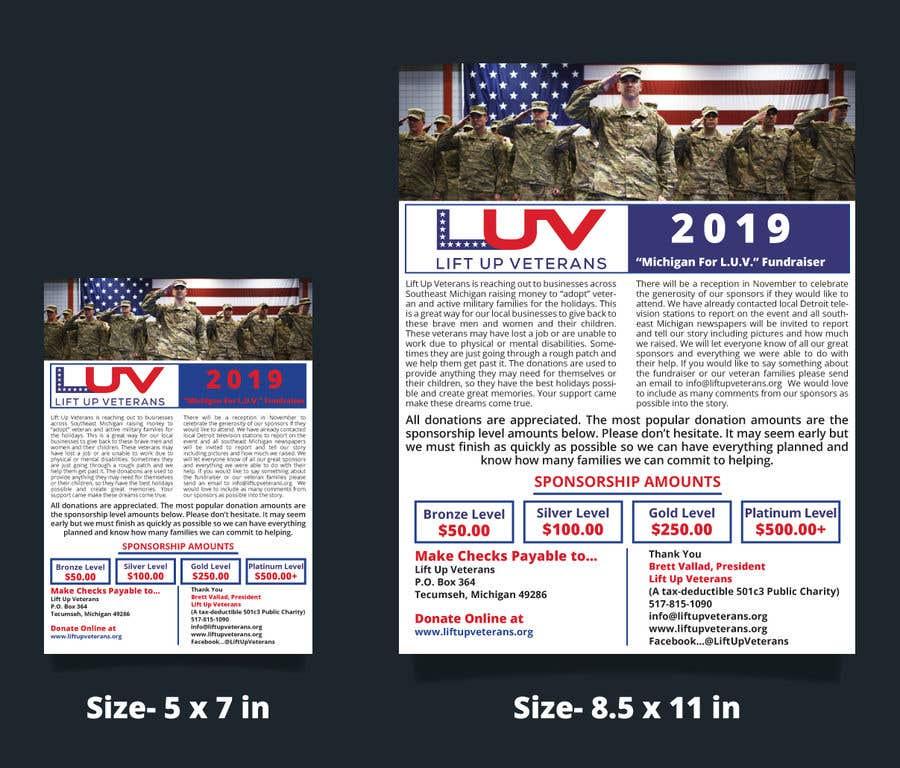 Penyertaan Peraduan #52 untuk Need Fundraising Flyer Created