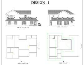 royce1101 tarafından Draw colonial elevation for a floor plan için no 9