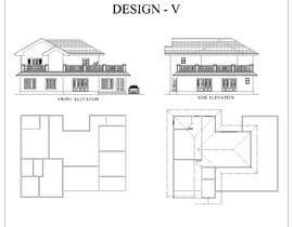 #13 for Draw colonial elevation for a floor plan by royce1101
