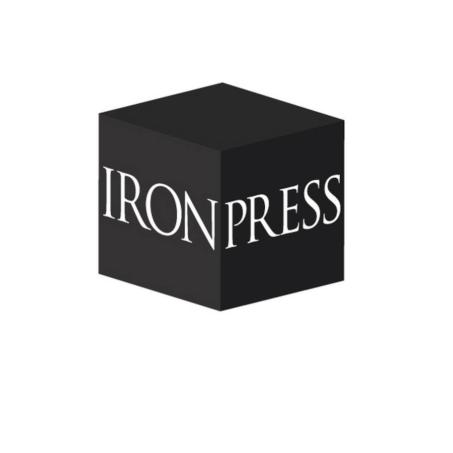 Konkurrenceindlæg #                                        91                                      for                                         Logo Design for IronPress