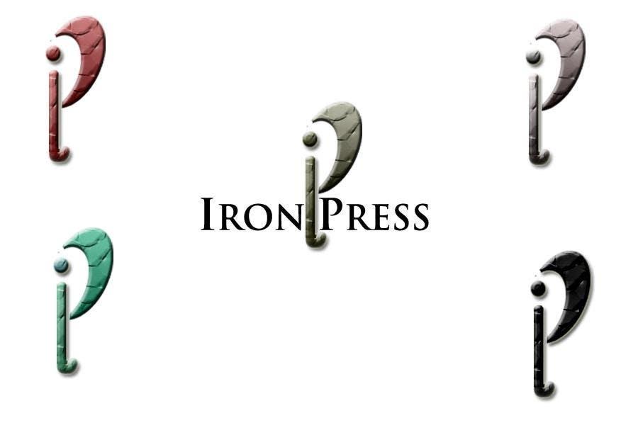 Zgłoszenie konkursowe o numerze #88 do konkursu o nazwie Logo Design for IronPress