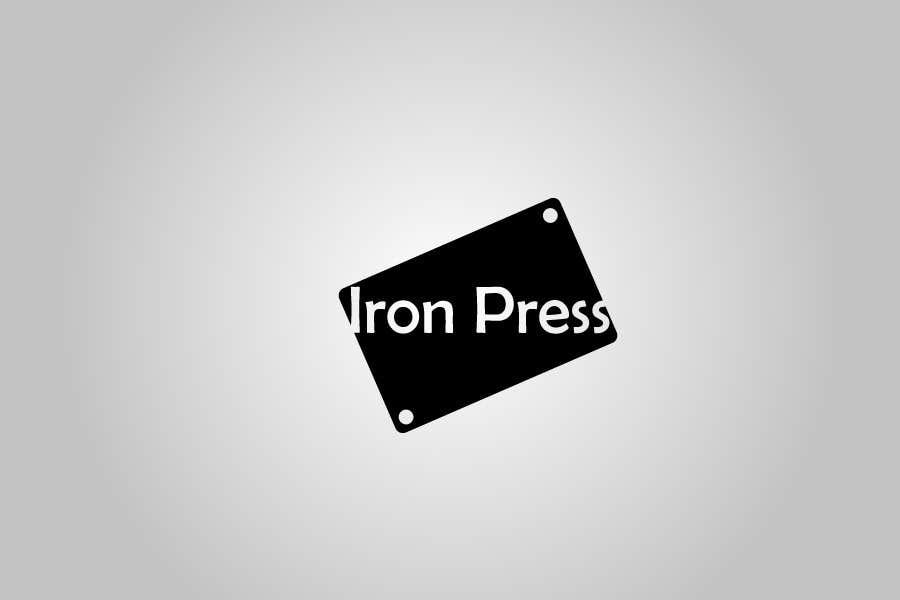 Konkurrenceindlæg #                                        112                                      for                                         Logo Design for IronPress