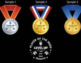 #13 para URGENT Need medal design for player of the week por sandyvfx07