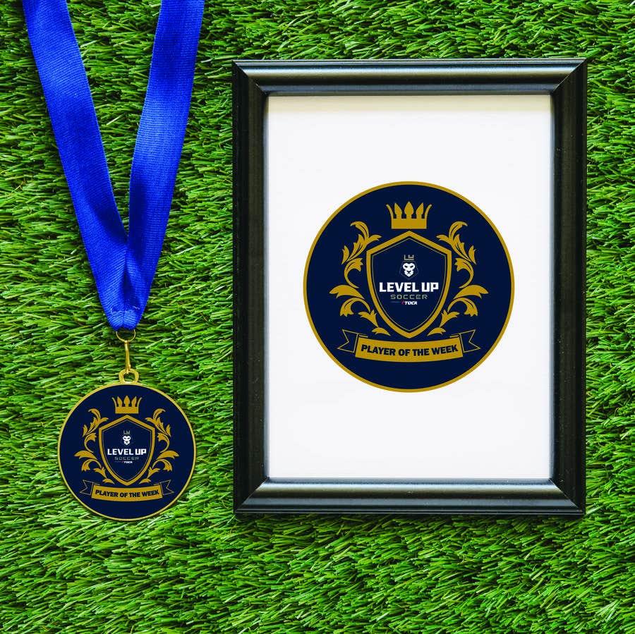 Bài tham dự cuộc thi #35 cho URGENT Need medal design for player of the week