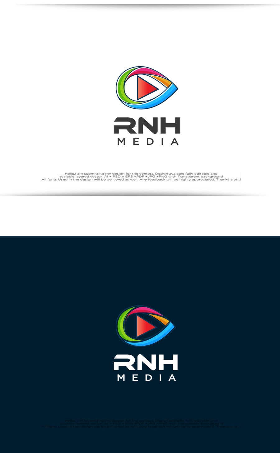 Proposition n°104 du concours Create a logo for a new media agency