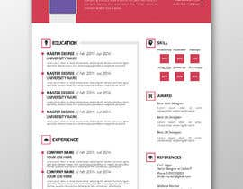 #12 para 5 pdf CV templates/designs for 5 websites por SLP2008