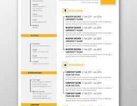 #13 para 5 pdf CV templates/designs for 5 websites por SLP2008