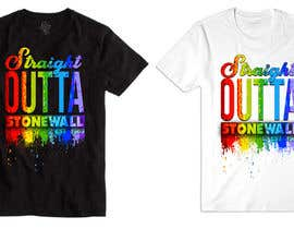 feramahateasril tarafından ATTENTION ARTISTS: Need a cool t shirt designed for a gay pride event için no 37