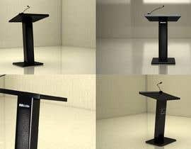 #9 for Make a sleek lectern design for me by mohamedsha69