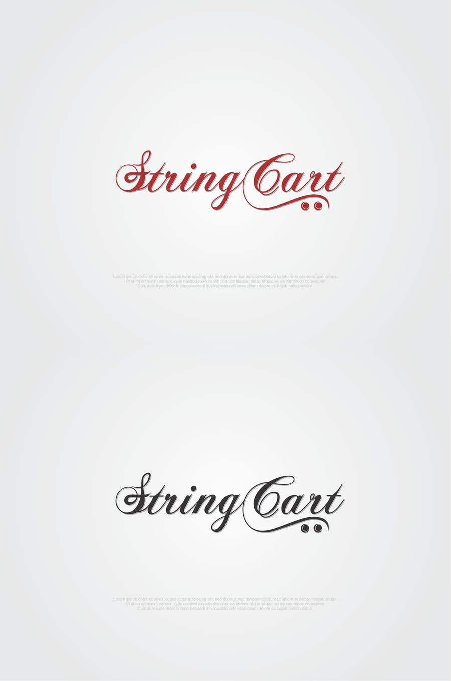Contest Entry #80 for I need a Word Mark Logo Design for my company - String Cart