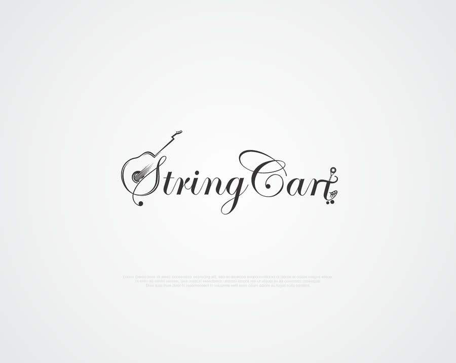 Contest Entry #185 for I need a Word Mark Logo Design for my company - String Cart