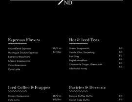#9 for Menu Design Restaurant (Lunch & Dinner) by yashvardhan47