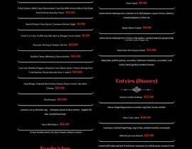 #4 for Menu Design Restaurant (Lunch & Dinner) af tresitem