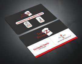 #88 for I want a two sided business card for T-shirt company. af arifhossainnti