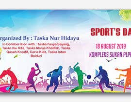 Nro 21 kilpailuun Sports Banner käyttäjältä MOMODart