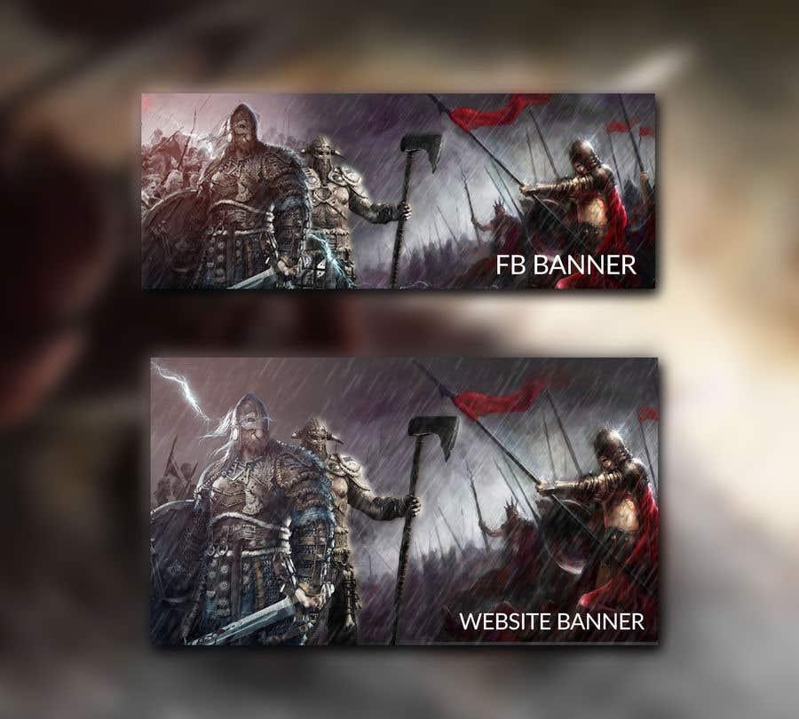Proposition n°79 du concours Viking Banner (Facebook&Website)