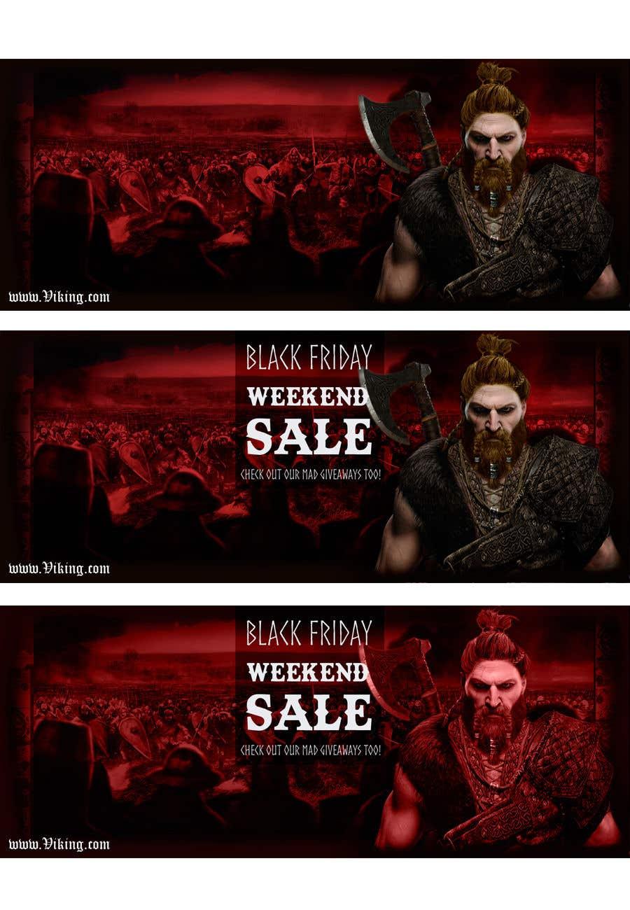 Proposition n°203 du concours Viking Banner (Facebook&Website)