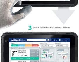 #235 для Mockup an aerospace app for Airbus! от uvarovkv