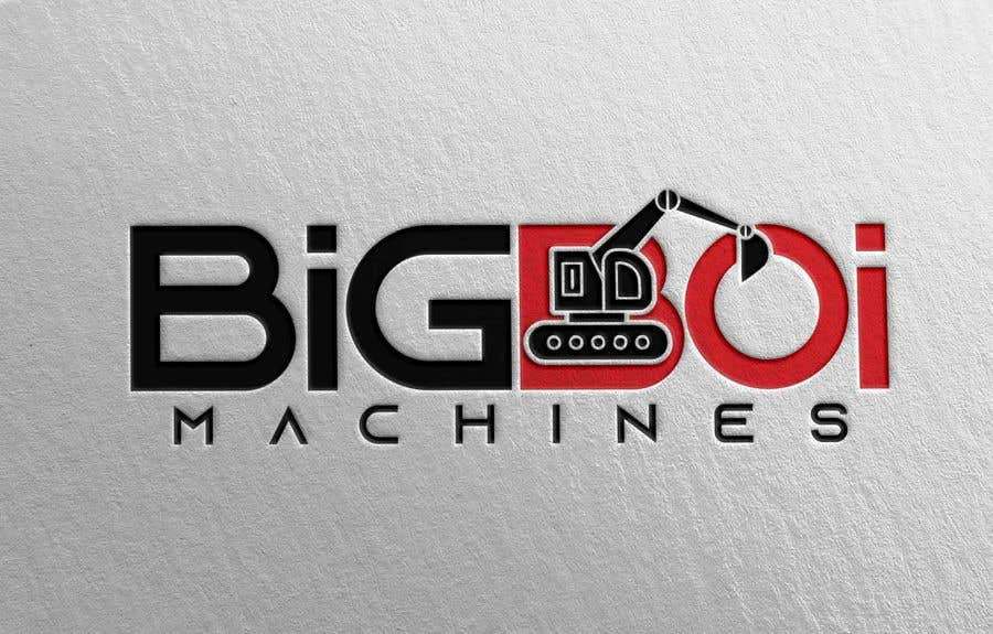 "Konkurrenceindlæg #78 for I have just started an excavation hire business and I need a logo designed for it. I'm looking for a new creative modern design rather than the standard 'run of the mill' logo.   The business name is ""Big Boi Machines""."