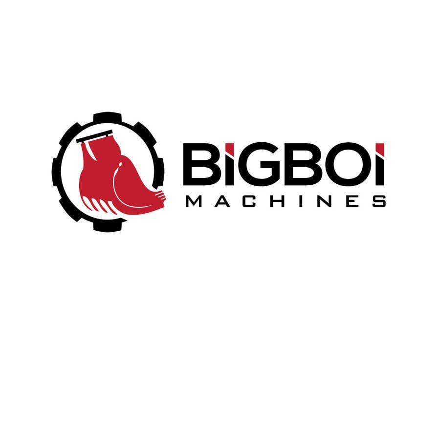 """Konkurrenceindlæg #14 for I have just started an excavation hire business and I need a logo designed for it. I'm looking for a new creative modern design rather than the standard 'run of the mill' logo.   The business name is """"Big Boi Machines""""."""