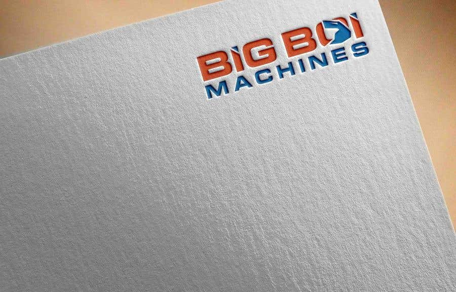 """Konkurrenceindlæg #83 for I have just started an excavation hire business and I need a logo designed for it. I'm looking for a new creative modern design rather than the standard 'run of the mill' logo.   The business name is """"Big Boi Machines""""."""