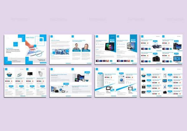 Конкурсная заявка №28 для Design Catalog Page template