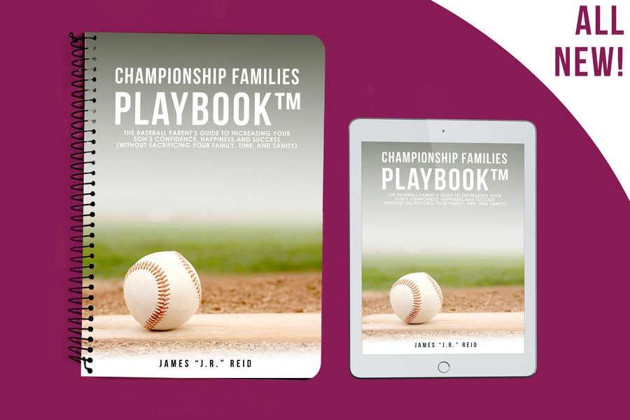 Kilpailutyö #25 kilpailussa Book mockup for the Championship Families Playbook™