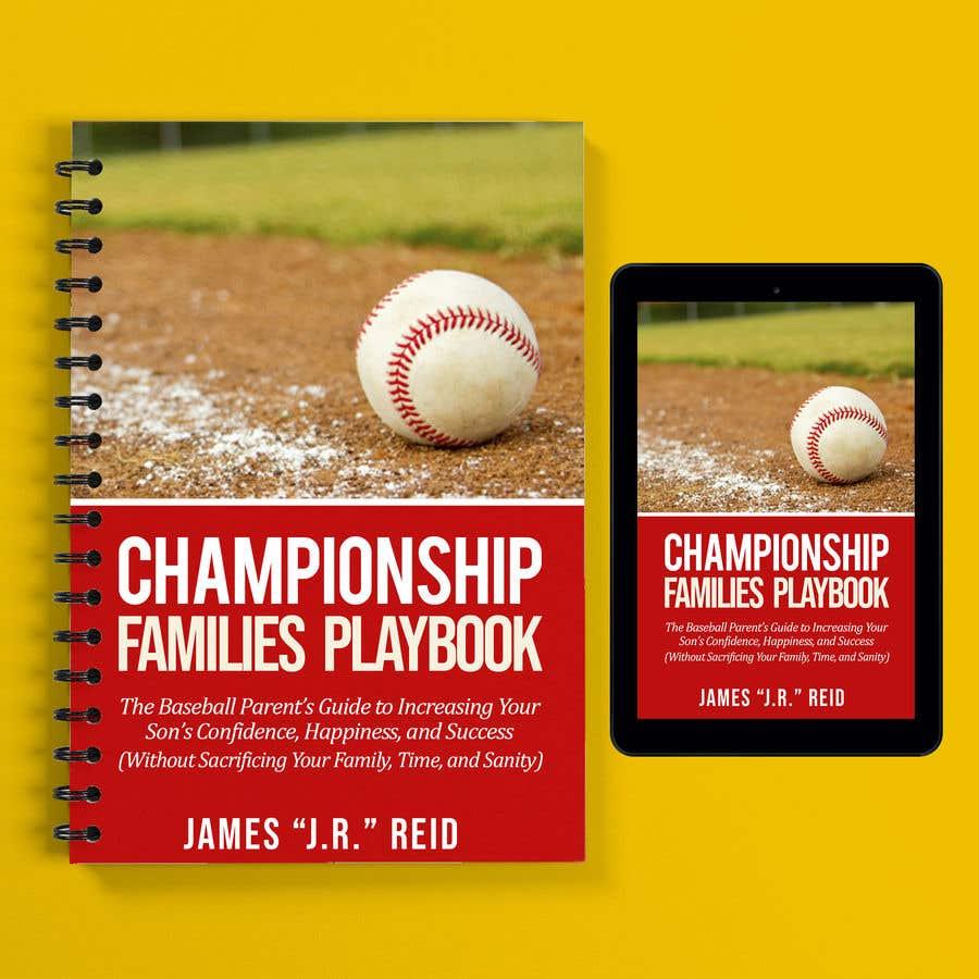 Kilpailutyö #22 kilpailussa Book mockup for the Championship Families Playbook™