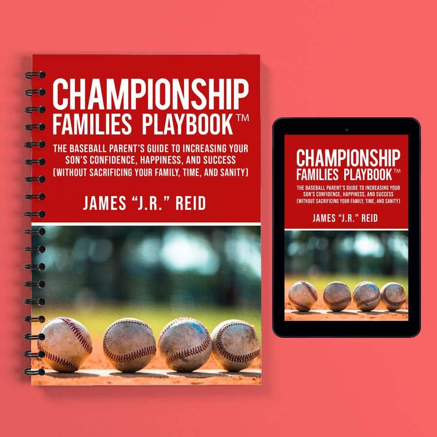 Kilpailutyö #36 kilpailussa Book mockup for the Championship Families Playbook™