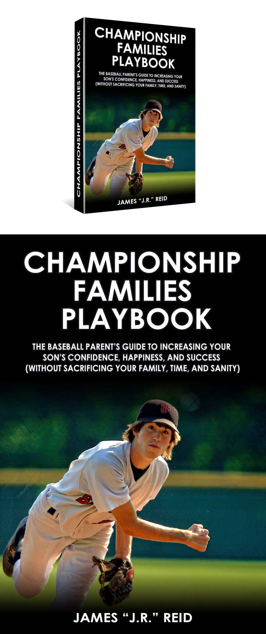 Konkurrenceindlæg #18 for Book mockup for the Championship Families Playbook™