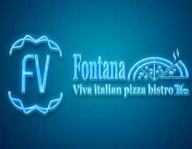 "Nro 21 kilpailuun ""fontana viva italian pizza bistro"" is restutant name, i want to make led gkoe sign board, for that you havr to design some illustration/design (fontana viva is name of my restutant) käyttäjältä hichamo0s"