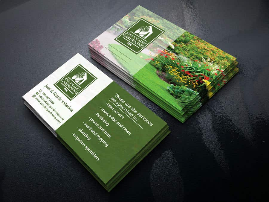 Proposition n°119 du concours Revamp Business Card for Landscaping/Gardening Service Provider