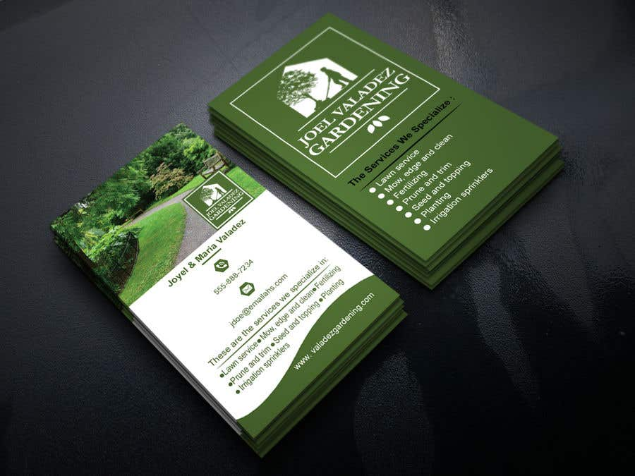 Proposition n°153 du concours Revamp Business Card for Landscaping/Gardening Service Provider