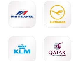 #8 for Realizzazione loghi compagnie aeree 180x180 by saurabhdaima1