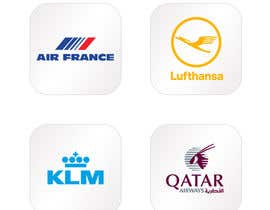 #8 for Realizzazione loghi compagnie aeree 180x180 af saurabhdaima1